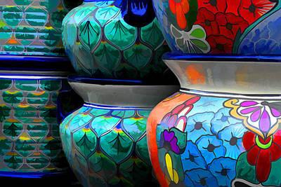 Photograph - Garden Pots by Brian Davis