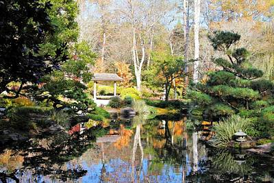 Photograph - Garden Reflections by Katherine White