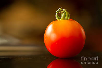 Photograph - Garden Ripe Tomato by Randy Wood