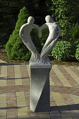 Photograph - Garden Sculpture by David Freuthal