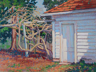 Garden Shed Original by Keith Burgess