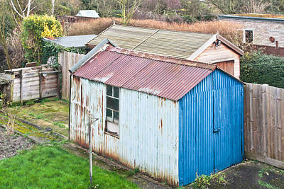 Old Neighbourhood Photograph - Garden Shed by Tom Gowanlock