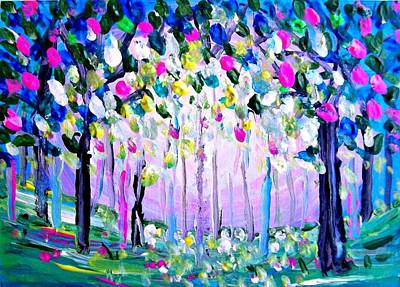 Painting - Garden by Shirley Smith
