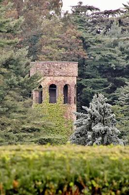 Photograph - Garden Tower At Longwood Gardens - Delaware by Kim Bemis