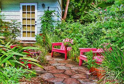 Photograph - Garden Treasures At Aunt Eden's By Diana Sainz by Diana Raquel Sainz