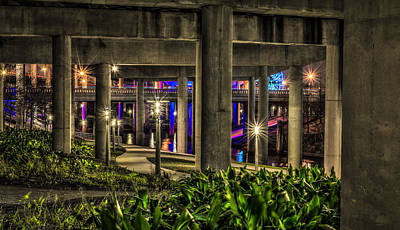 Photograph - Garden Under The Bridge by David Morefield