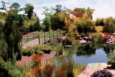 Photograph - Japanese Gardens - Garden View Series 05 by Carlos Diaz