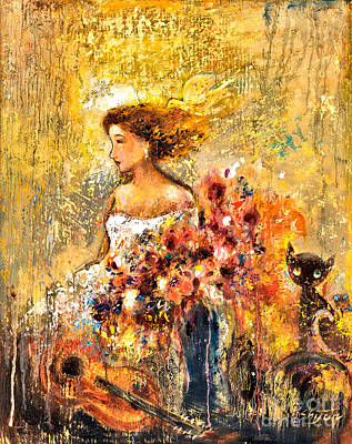Garden Viii Art Print by Shijun Munns