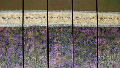 Mixed Media - Garden Voices by Phyllis Howard