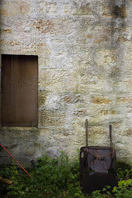 Photograph - Garden Wall Dornoch Scotland by Sally Ross