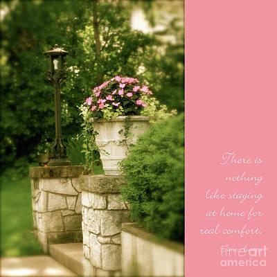 Photograph - Garden Wall by Heidi Hermes