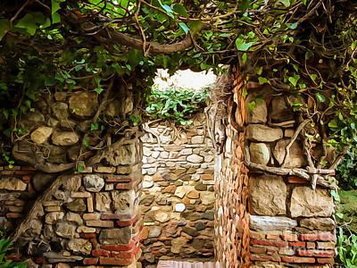 Photograph - Garden Walls by Lutz Baar
