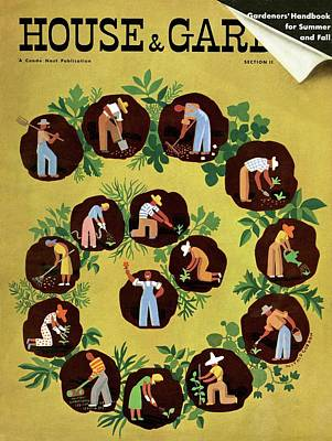 Photograph - Gardeners And Farmers by Witold Gordon