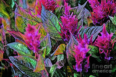 Avant Garde Mixed Media - Gardener's Passion By Jrr by First Star Art