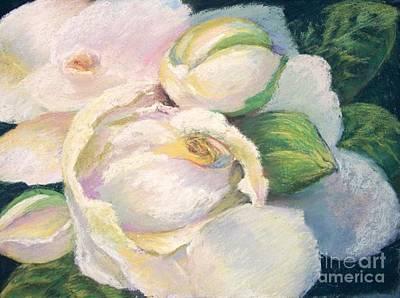 Painting - Gardenia 2 by Susan M Fleischer