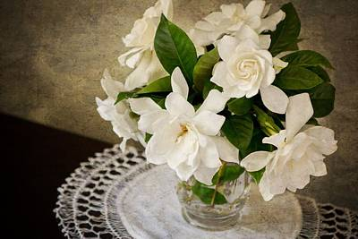Photograph - Gardenia II by Mary Hershberger