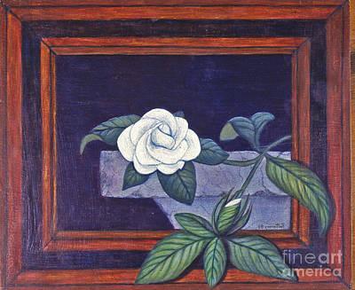 Painting - Gardenia by Patricia  Tierney