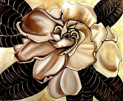 Painting - Gardenia by Victoria Rhodehouse