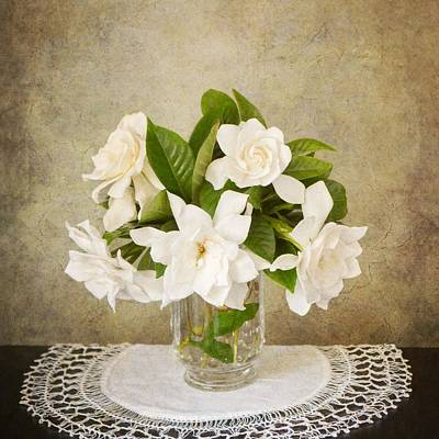 Photograph - Gardenias IIi by Mary Hershberger
