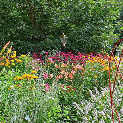 Gardens 109 Art Print by Patsy Pratt