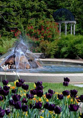 Gardens At Maymont Art Print by Kelvin Booker