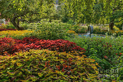Photograph - Gardens At Prescott Park by Sharon Seaward