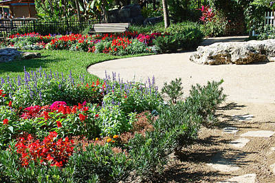Gardenscape Art Print by Aimee L Maher Photography and Art Visit ALMGallerydotcom