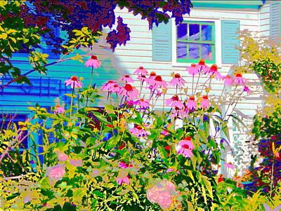 Photograph - Gardiner Dooryard  by Expressionistart studio Priscilla Batzell