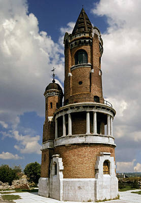 Photograph - Gardosh Tower. Zemun. Serbia by Juan Carlos Ferro Duque