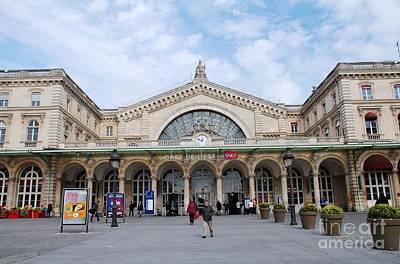 Photograph - Gare De L'est Paris by David Fowler