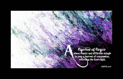 Garen Of Grace 1 Art Print by Christine Nichols