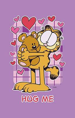 Lazy Digital Art - Garfield - Hug Me by Brand A