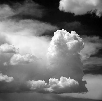 Cloud Photograph - Garfield In The Skies by Christine Till