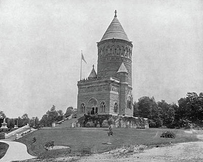 Photograph - Garfield Monument, C1890 by Granger