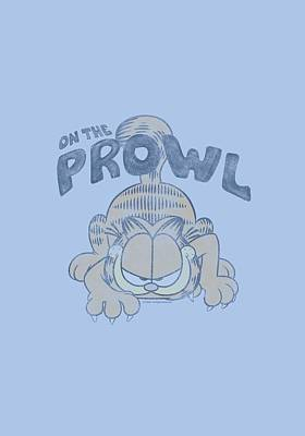 Lazy Digital Art - Garfield - Prowl by Brand A