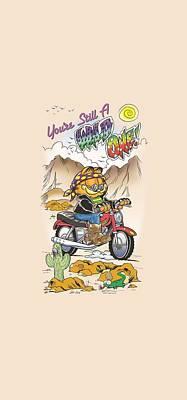 Lazy Digital Art - Garfield - Wild One by Brand A