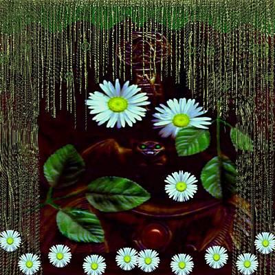 Swamp Mixed Media - Gargoyle And Grotesque by Pepita Selles