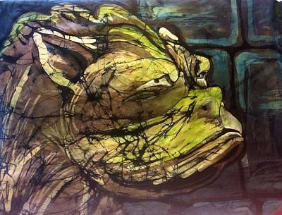 Tapestry - Textile - Gargoyle by Kay Shaffer
