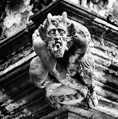 Photograph - Gargoyle, Schloss Hartenfels, Torgau, Germany by Simon Marsden