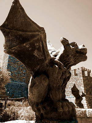 Photograph - Gargoyle  by Tamyra Crossley