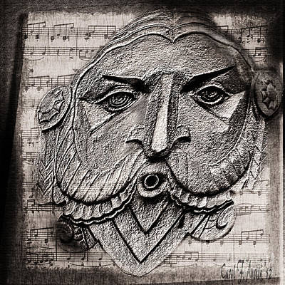 Whistler Digital Art - Whistle A Happy Tune by Carol F Austin