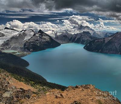 Photograph - Garibaldi British Columbia Panorama Point by Adam Jewell