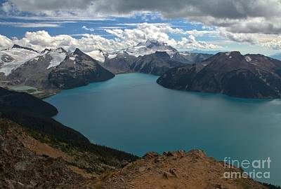 Photograph - Garibaldi Canadian Coastal Mountain Lakes by Adam Jewell