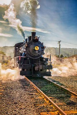 Photograph - Garibaldi Engine No.25 by Thomas Hall
