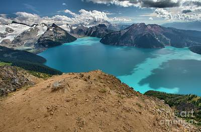 Photograph - Garibaldi Lake Blue Streaks by Adam Jewell