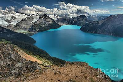 Photograph - Garibaldi Lake British Columbia Canada by Adam Jewell