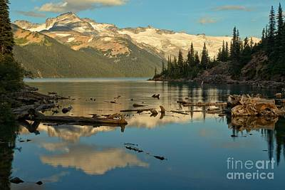Photograph - Garibaldi Lake Landscape by Adam Jewell