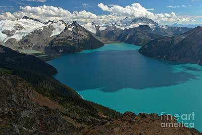 Photograph - Garibaldi Lake Mountain Landscape by Adam Jewell