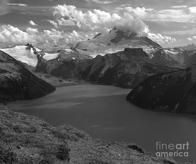 Photograph - Garibaldi Lake Overlook by Adam Jewell
