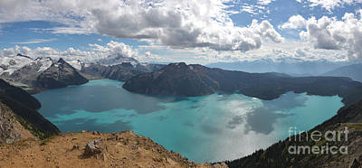 Photograph - Garibaldi Lake Panorama - Squamish British Columbia by Adam Jewell